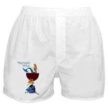 Mermaid Wine Boxer Shorts