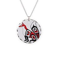 Pacific Northwest Fox Necklace