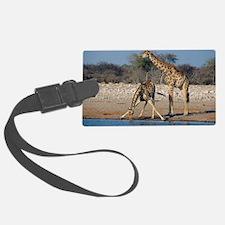 Giraffes Luggage Tag