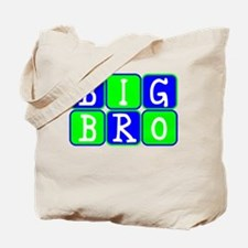 Big Bro (Blue/Green Bright) Tote Bag