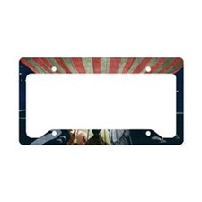First overnight balloon fligh License Plate Holder