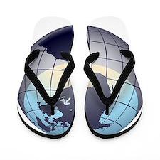 Globe Flip Flops