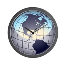 Globe Wall Clock