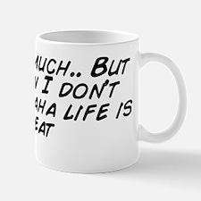 I eat so much.. But somehow I don' Mug