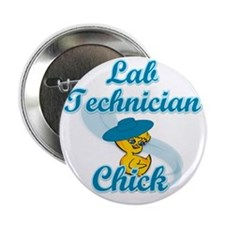 "Lab Technician Chick #3 2.25"" Button"