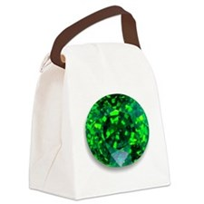 Emerald Canvas Lunch Bag