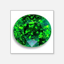 """Emerald Square Sticker 3"""" x 3"""""""