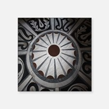 """Cathedral Floors - Florence Square Sticker 3"""" x 3"""""""