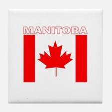 Manitoba Tile Coaster