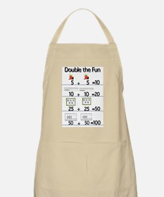 100th Day Doubles Apron