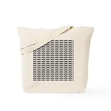 Mustache Pattern Tote Bag