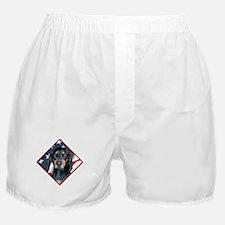 Black & Tan Flag 2 Boxer Shorts