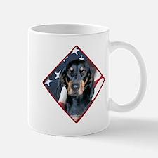 Black & Tan Flag 2 Mug