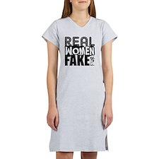 Real Women Fake Fur Women's Nightshirt