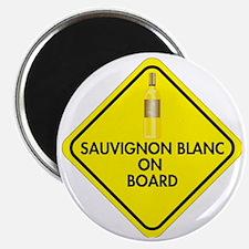Sauvignon Blanc on Board Magnet