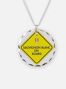 Sauvignon Blanc on Board Necklace