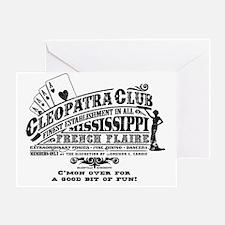 Cleopatra Club Greeting Card