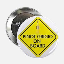 """Pinot Grigio on Board 2.25"""" Button"""