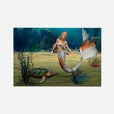 Mermaid und Turtle Magnets