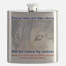 THOSE WHO ACT LIKE SHEEP... Flask