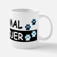 ANIMAL RESCUER (Black, Blue) Mug