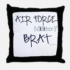 Air Force BRATS Throw Pillow