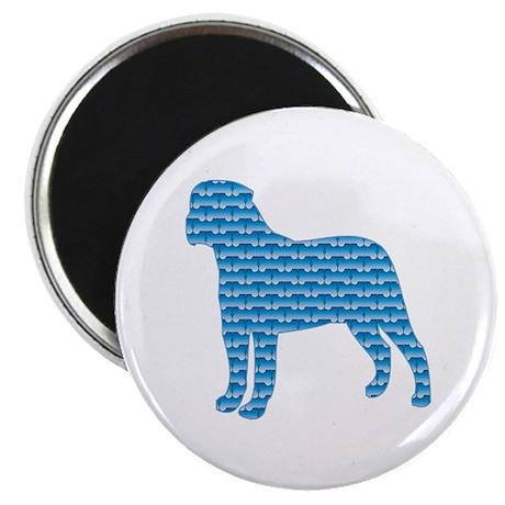 """Bone Bullmastiff 2.25"""" Magnet (100 pack)"""