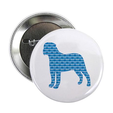 "Bone Bullmastiff 2.25"" Button (100 pack)"
