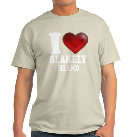 I Heart Blakely Island Light T-Shirt