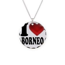 I Heart Borneo Necklace