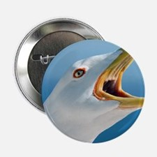 "Herring gull 2.25"" Button"