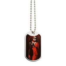 Winter Harlequin II Dog Tags