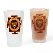 Kali Yantra Drinking Glass