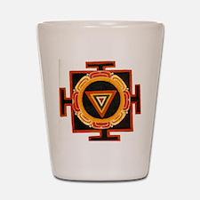 Kali Yantra Shot Glass