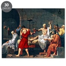 The Death of Socrates, 1787 artwork Puzzle