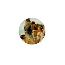 Sir Lawrence Alma-Tadema A Coign Of Va Mini Button