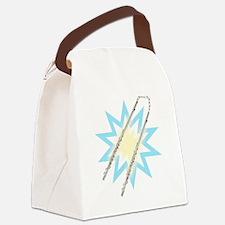 Flute-chucks! Canvas Lunch Bag