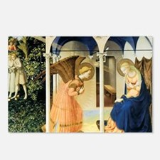Fra Angelico The Annuncia Postcards (Package of 8)