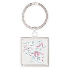 Every princess needs Square Keychain