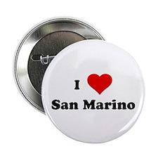 "I Love San Marino 2.25"" Button (100 pack)"