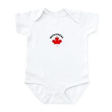 Montreal, Quebec Infant Bodysuit