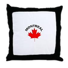 Montreal, Quebec Throw Pillow