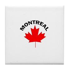 Montreal, Quebec Tile Coaster