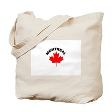Montreal, Quebec Tote Bag
