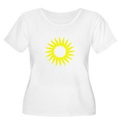 Yellow Sunburst T-Shirt