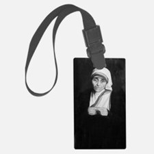 Mother Teresa (black and white) Luggage Tag