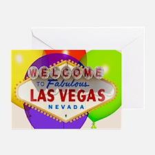 Las Vegas Party Cards Pk of 10