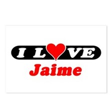 I Love Jaime Postcards (Package of 8)
