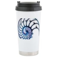 Sectioned shell of a na Travel Coffee Mug