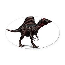 Spinosaurus dinosaur, artwork Oval Car Magnet